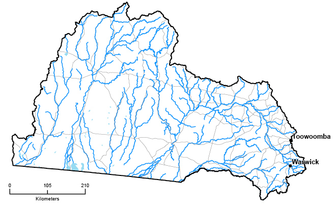 Queensland Murray-Darling Basin QLD Region Detail